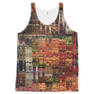 complicated abstract by rafi talby All-Over-Print tank top