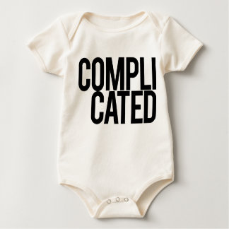 Complicated Baby Shirt (White)