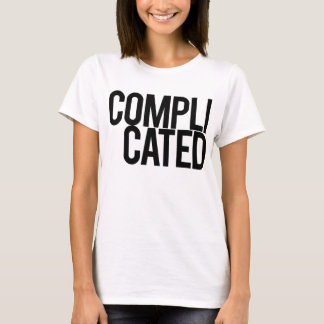 Complicated Female Shirt (White)