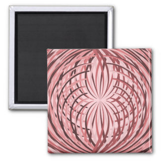 Complicated Frill Pink Magnet