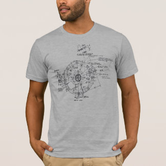 Complicated machinery made by humans T-Shirt