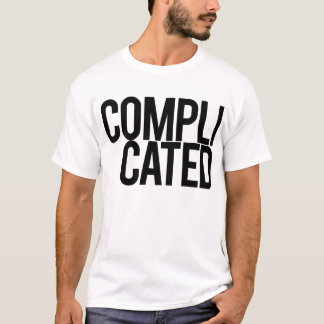 Complicated (White) T-Shirt