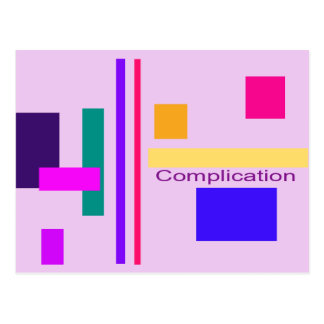 Complication Post Card