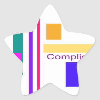 Complication Star Sticker