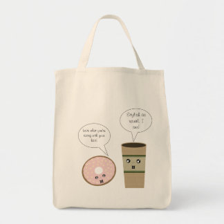Complimentary Coffee and Donut Bag