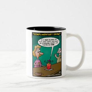 Complimentary Drink Mug