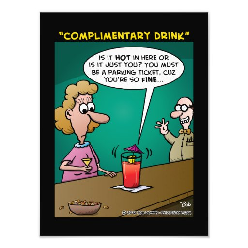"""""""Complimentary Drink"""" Art Photo"""