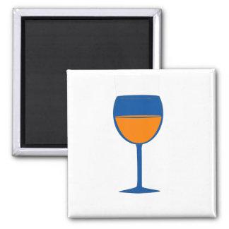 Complimentary Wine Magnet - Blue Orange
