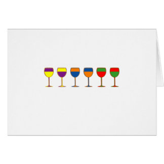 Complimentary Wine Notecard