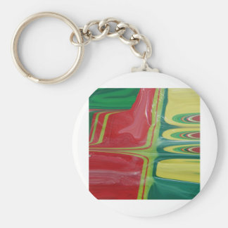 compliments basic round button keychain