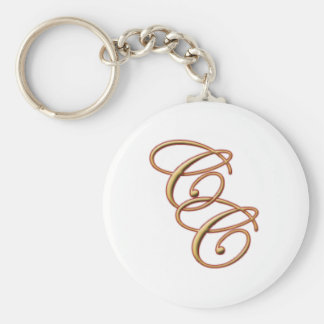 Compliments Connection Basic Round Button Keychain