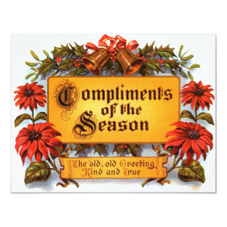 Compliments of the Season Card
