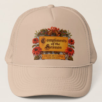 Compliments of the Season Trucker Hat