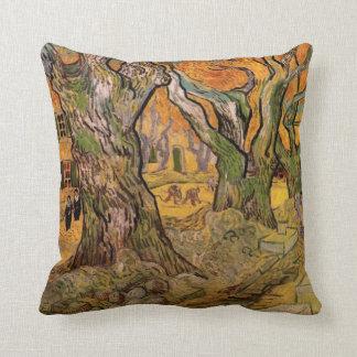 Componedores de camino de Van Gogh, impresionismo Almohada