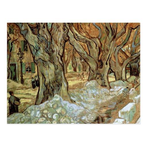 Componedores de camino, Vincent van Gogh Postal