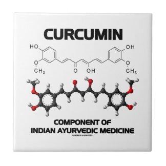 Componente de la curcumina de la medicina de Ayurv Azulejos Ceramicos