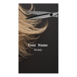 Componga al artista - estilista tarjetas de visita