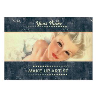 Componga al artista - negocio, tarjeta del horario tarjetas de visita grandes