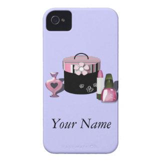 Componga al chica de los cosméticos carcasa para iPhone 4 de Case-Mate