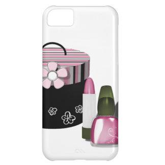 Componga al chica de los cosméticos funda para iPhone 5C
