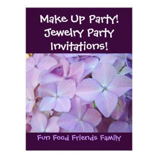 ¡Componga al fiesta ¡Fiesta de la joyería de las Comunicado Personalizado