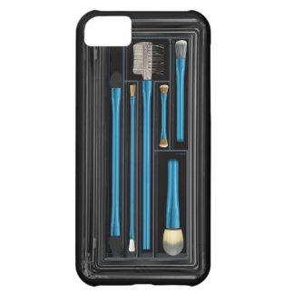 Componga el azul eléctrico del caso funda iPhone 5C