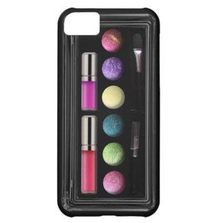 Componga la caja, colores, base negra funda para iPhone 5C