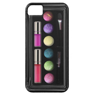 Componga la caja, colores, base negra funda para iPhone SE/5/5s