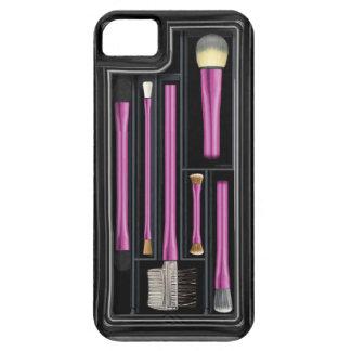 Componga los cepillos, caso realista funda para iPhone SE/5/5s
