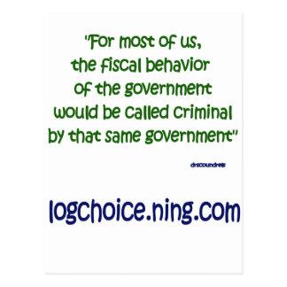 Comportamiento fiscal postal