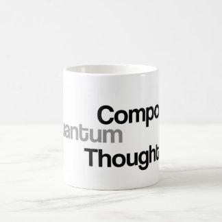 Compose Quantum Thought Coffee Mug