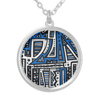 Composed Adaptable Harmonious Healthy Round Pendant Necklace