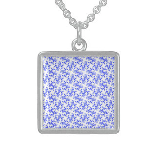 Composed Imaginative Honored Warmhearted Square Pendant Necklace