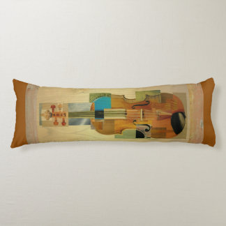 Composed Violin Body Pillow