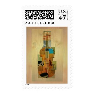 Composed Violin Postage