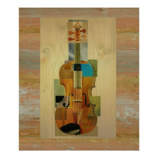 Composed Violin Poster