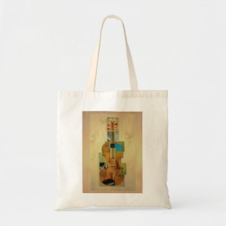 Composed Violin Tote Bag