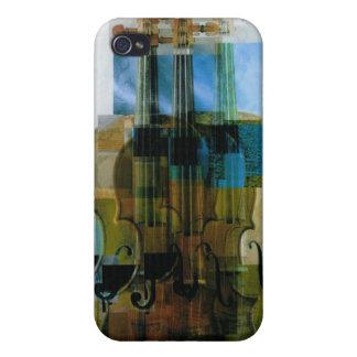 Composed Violin Trio iPhone 4 Case