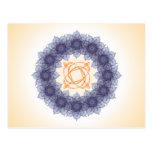 Composición #13 del fractal de la mandala postal