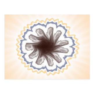 Composición 16 del fractal de la mandala postal