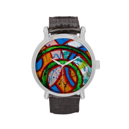 Composición #20B de Michael Moffa Relojes De Pulsera