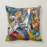 Composición 2 de Kandinsky Almohada
