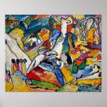 Composición 2 de Kandinsky Poster