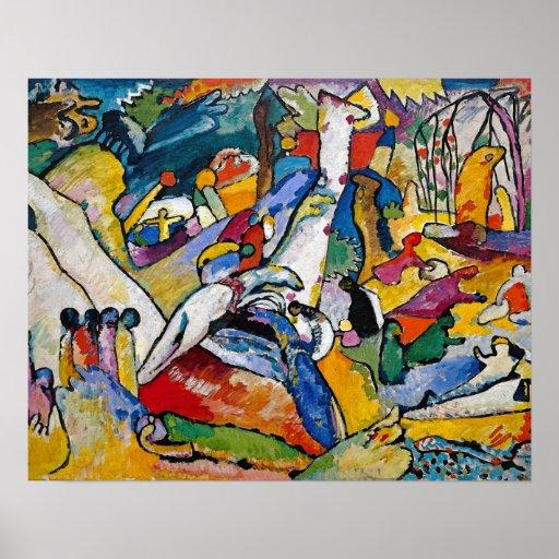 Composición 2 de Kandinsky Póster