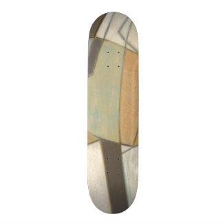 Composición abstracta con colores silenciados patines personalizados