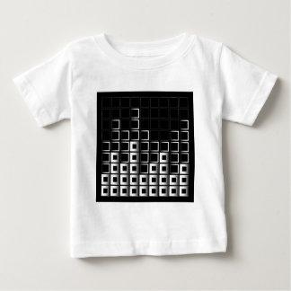 Composición abstracta con los cuadrados t shirt