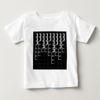 Composición abstracta con los cuadrados tee shirts