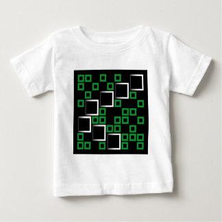 Composición abstracta con los cuadrados t-shirt