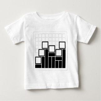 Composición abstracta con los cuadrados tshirt