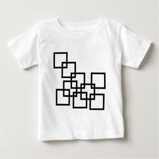 Composición abstracta con los cuadrados tee shirt